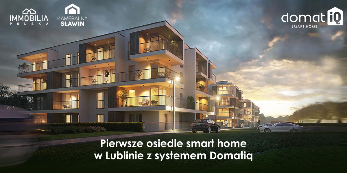 Pierwsze osiedle smart home w Lublinie z systemem Domatiq